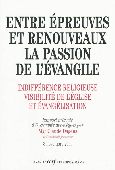 Indifférence religieuse, visibilité de l'Église et évangélisation