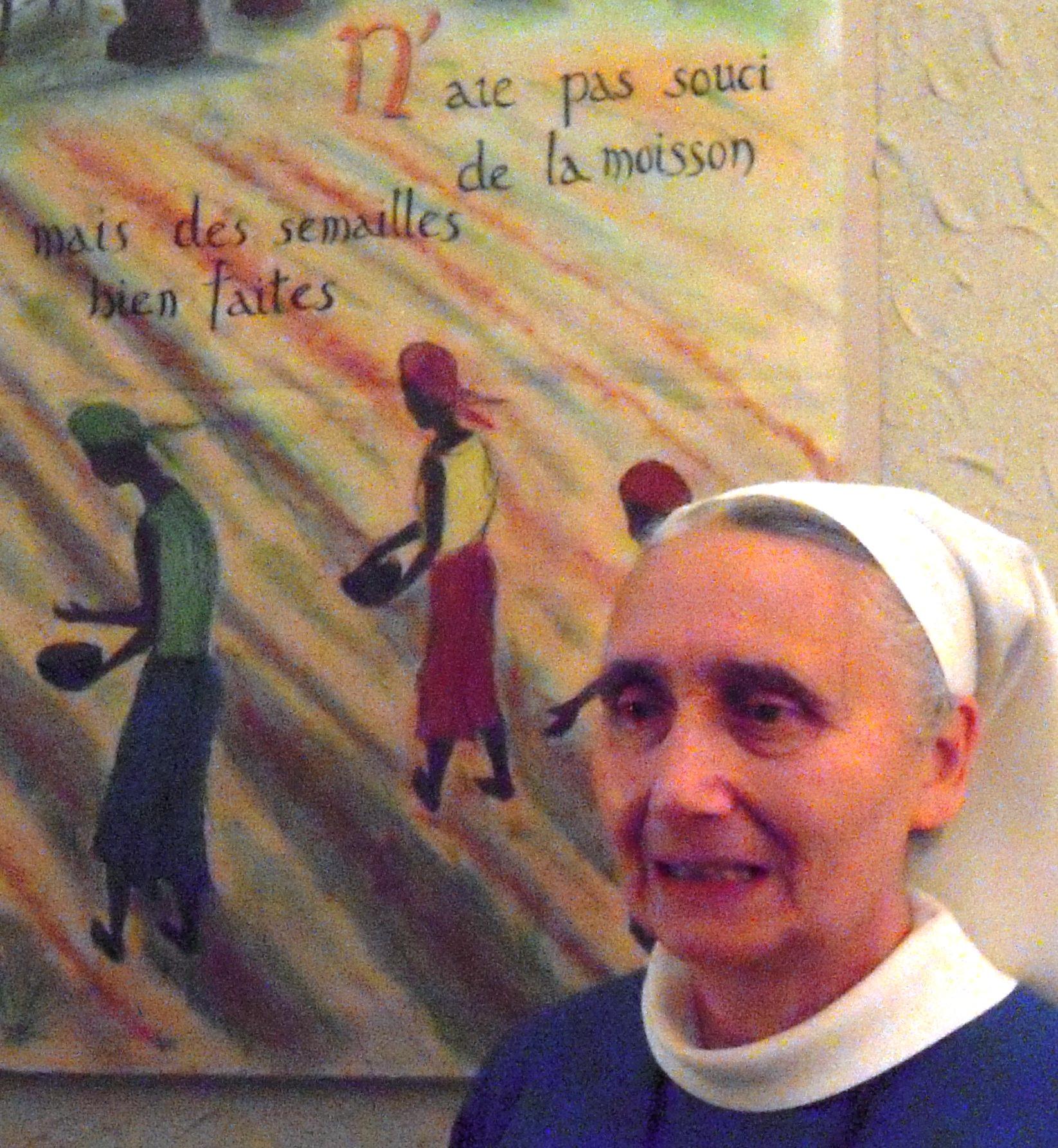 Soeur Evangéline, prieure de la Communauté des Diaconesses de Reuilly